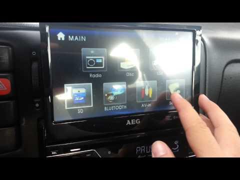 AEG DVD Autoradio AR 4026 Beep Ton Ausschalten - Anleitung - DIY - How to Deutsch