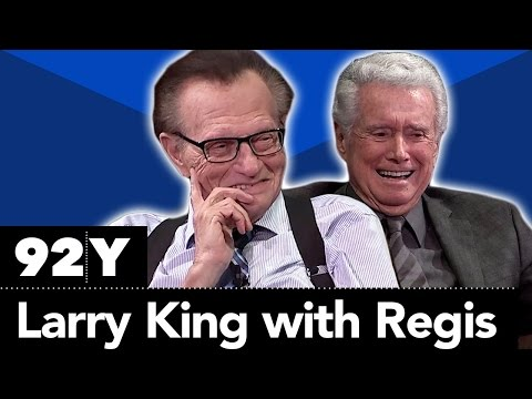 Larry King with Regis Philbin