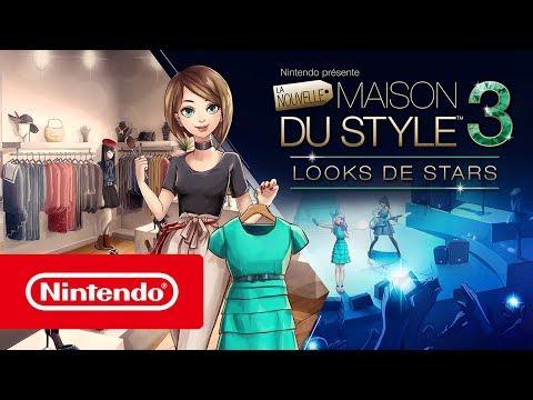 La Nouvelle Maison du Style™ 3 – Looks de Stars - Bande-annonce de lancement (Nintendo 3DS)