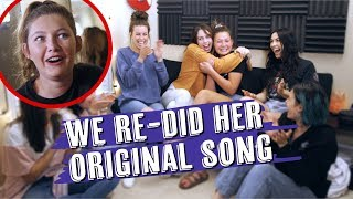 WE SURPRISED A FAN AND REMADE HER ORIGINAL SONG