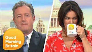 Ultimate Piers Versus Susanna Moments   Good Morning Britain