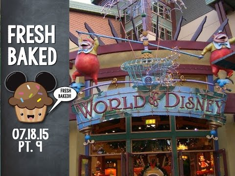 Oh we got shopping at Disneyland videos for you (World of Disney) | 07-18-15 Pt. 9