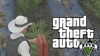 GTA 5: Funniest COP Moments #3 (Weed Farm, Airplane Fail, River Rafting, More!)