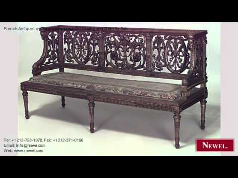 French Antique Loveseat/settee Louis XVI Seating and Chairs