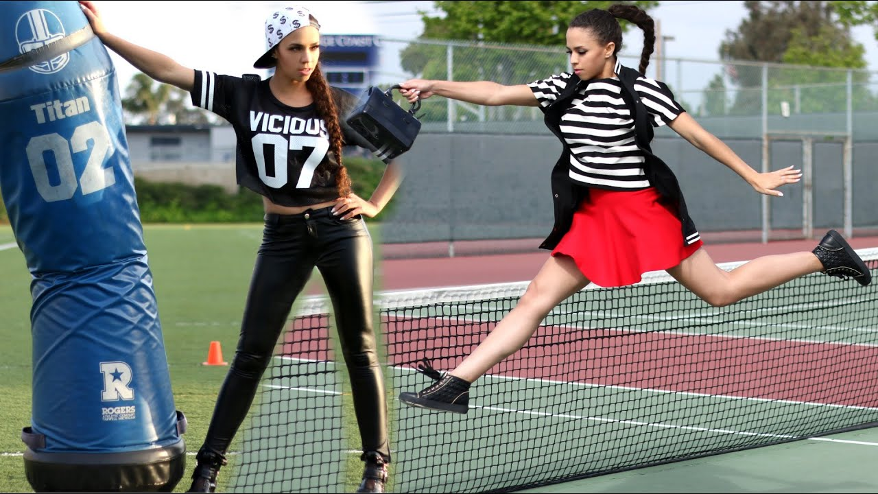 Sporty Chic! How to Dress Comfy Cute and Sporty - YouTube