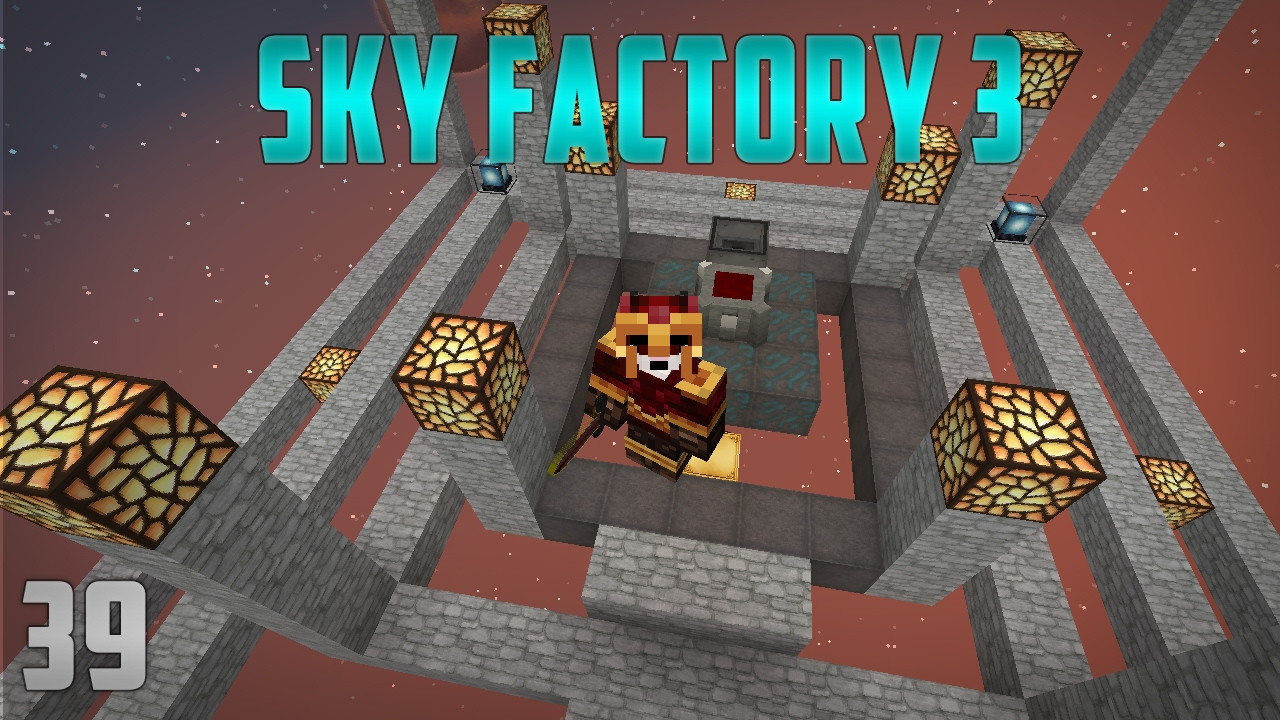 Sky Factory 3 Ep39 Blood Magic Living Armor Rftools Environmental