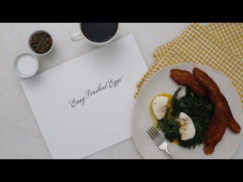 Perfectly Poached Eggs- Martha Stewart