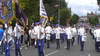 Lily Of The Valley FB @ Brian Robinson Memorial Parade 2011