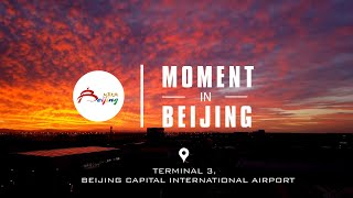 Moment In Beijing—Sunrise at Beijing Capital Airport