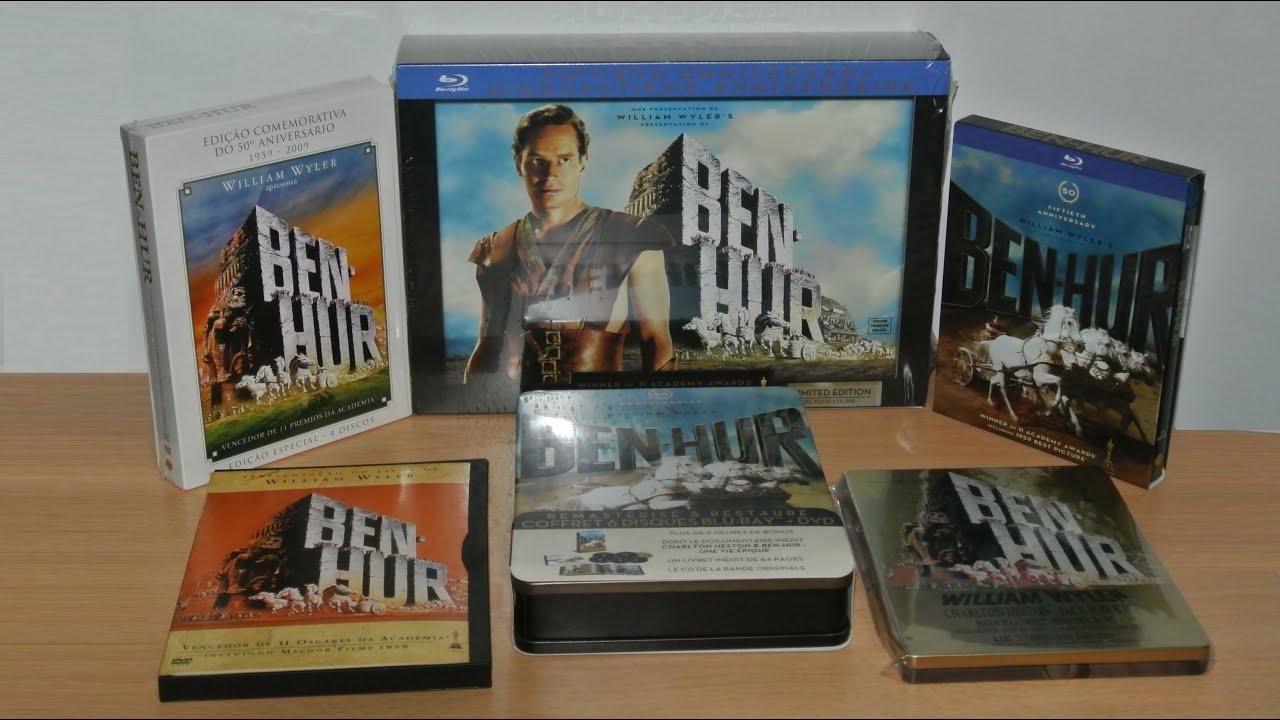 ben hur 50th anniversary edition blu ray