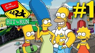 The Simpsons Hit and Run Walkthrough - Part 1 - Welcome to Springfield!
