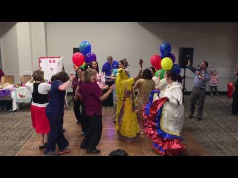 Colombian Dance Showcases Sutter Medical Center's Diversity