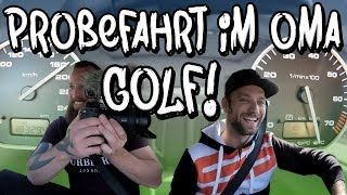 Test drive in Grandma Golf - a real 750hp sleeper clothing! | Philipp Kaess |