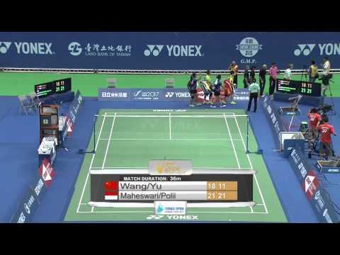 2014 YONEX CHINESE TAIPEI OPEN- F- WD - Match 3