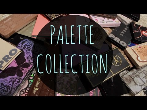 HUGE Palette Collection & Declutter | Part 1| Young Wild and Polished