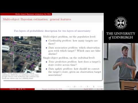 Target detection and tracking for space situational awareness - Emmanuel Delande