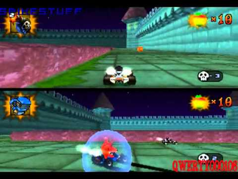 crash team racing battle mode with scratch youtube
