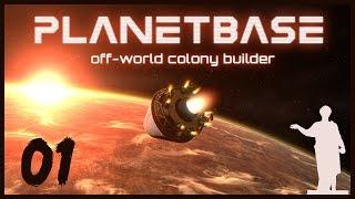 Planetbase [Beta] #01 - Внеземная Колонизация(Здравствуйте, меня зовут Славик, и я Одессит. ▽▽▽▽▽▽▽ Открой Меня ▽▽▽▽▽▽▽ Руководите группой посел..., 2015-10-11T11:10:25.000Z)