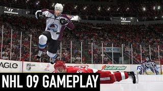 NHL 09 Gameplay (PC)