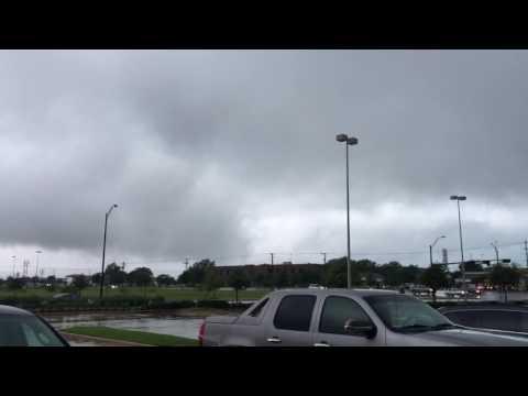 Pre -Tornado activity in Bryan, Texas 5/26/16