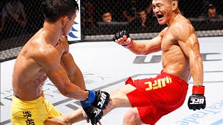 the ultimate fighter china champion ning guangyou highlight