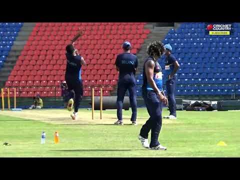 Lasith Malinga seen practicing ahead of India vs Sri Lanka, 2nd ODI