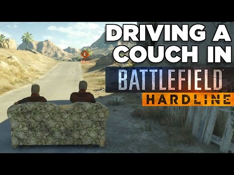 Driving a Couch - Battlefield Hardline