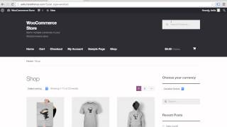 WooCommerce Currency Switcher explained - Multi-Currency WooCommerce in under two minutes