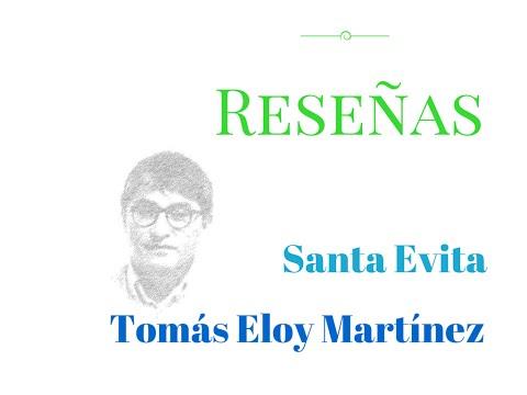 Tomas Eloy Martinez Santa Evita Youtube