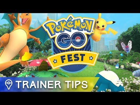 Here's what you need to know about today's Pokémon GO Fest events