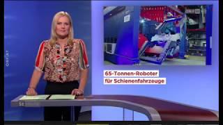 Feierliche Inbetriebnahme der igm Schweißroboteranlage bei Siemens Mobility in Graz, Österreich