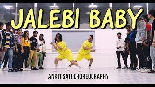 JALEBI BABY : Tesher || ft. Akanksha sharma || Ankit Sati Choreography