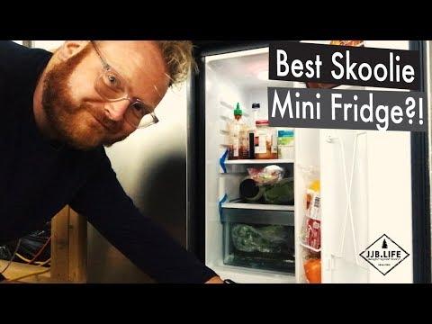 Best Mini Fridge & My Solar Disaster   Skoolie Bus Conversion Tiny House Videos