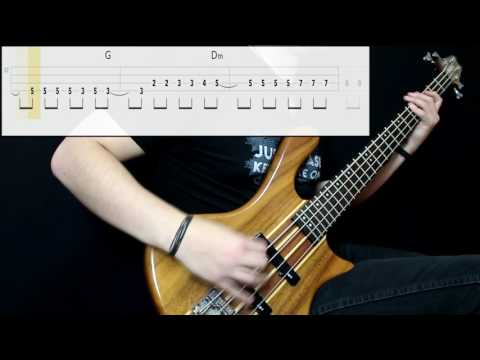 AFI  Medicate Bass Only Play Along Tabs In
