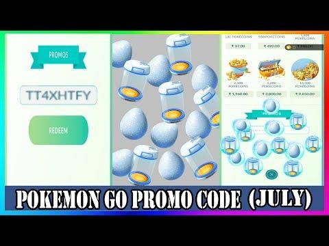 Pokemon Go Promo Code 2019 July | |