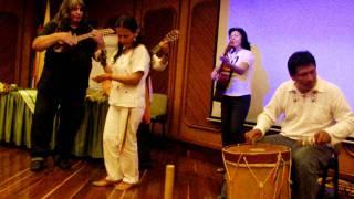 Grupo Sol Mayor - música andina ancestral (4 de 5). Evento: Plenilunio 86