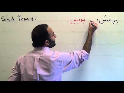 """Persian Grammar: Simple Present Tense- """"Do"""" """"Am Doing"""" """"Will Do"""""""