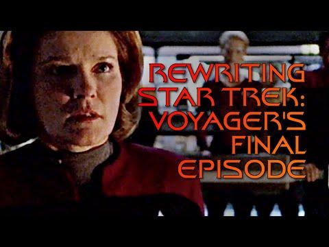Rewriting Star Trek: Voyager's Final Episode