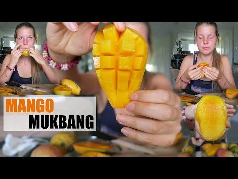 MANGO MUKBANG // Taste Testing Organic Florida Mangoes