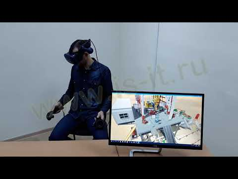 Автоматизированная система обучения «Бурение нефтяных и газовых скважин» (VR)