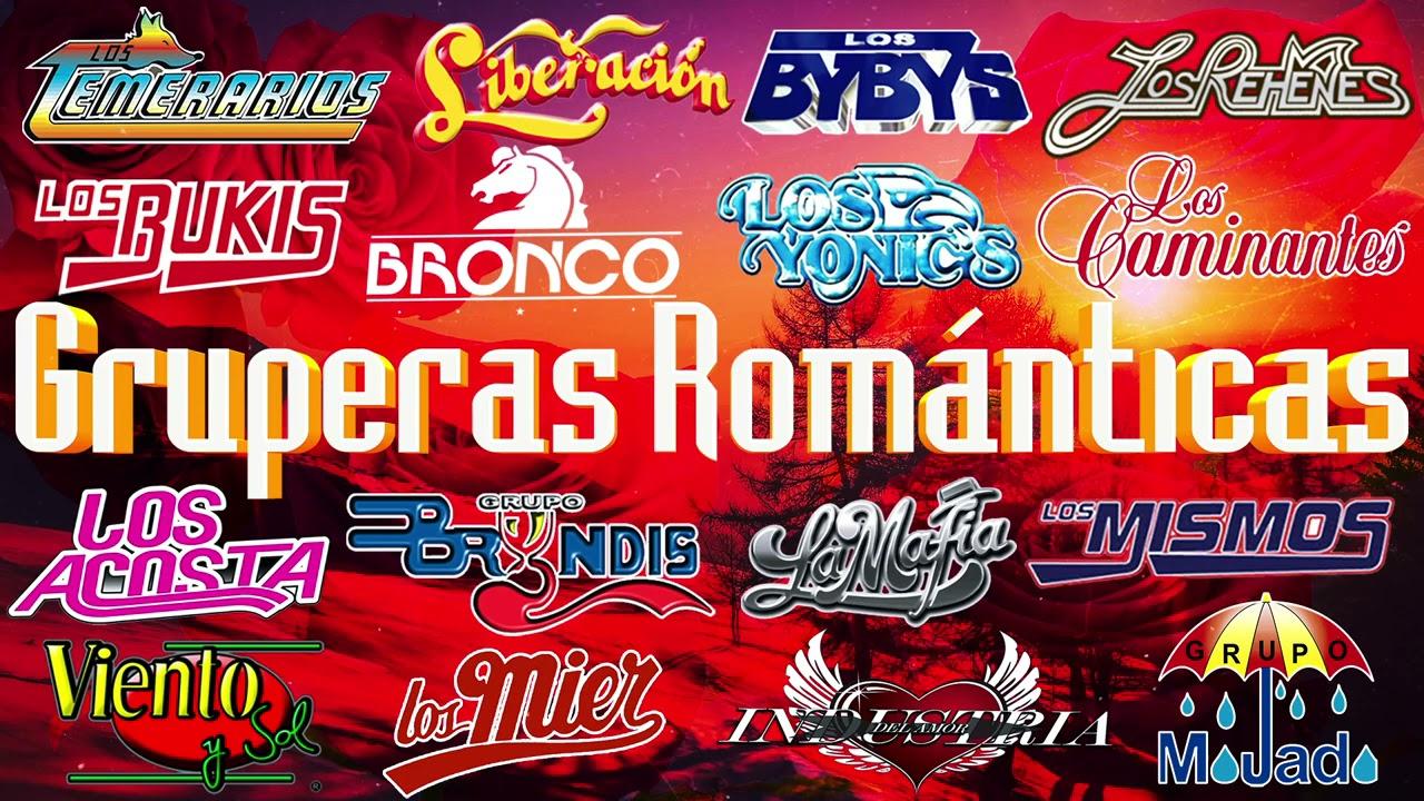 Gruperas Románticas de Ayer - Viento Y Sol, Los Yonics, Los Temerarios, Los Bukis, Bryndis