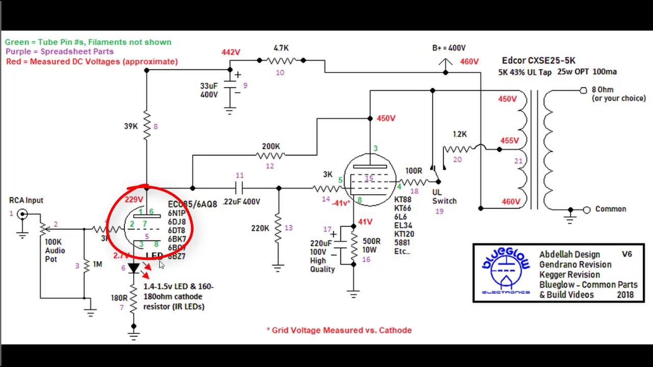 hight resolution of kt88 single ended tube amplifier build 2018 part 11