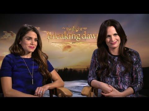 'Breaking Dawn 2' Nikki Reed and Elizabeth Reaser Interview