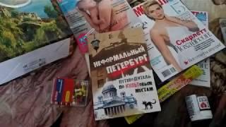 """ПОКУПКИ В БУКВОЕДЕ+Обзорчик книги """"Неформальный Петербург"""""""
