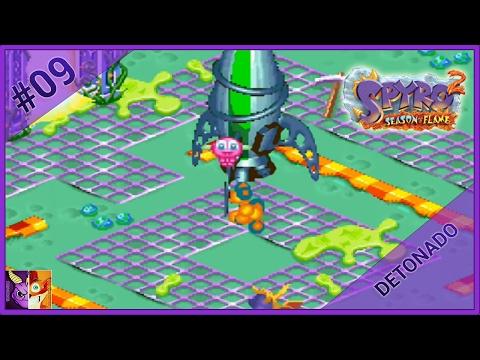 Spyro 2: Season of Flame #10 | Moon Fondue e Volcano Vaults