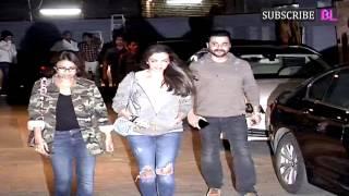 Ranveer Singh, Alia Bhatt, Siddharth Malhotra, Varun Dhawan at Special Screening of Ok Janu