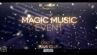 Magic Music Event After Effects Template