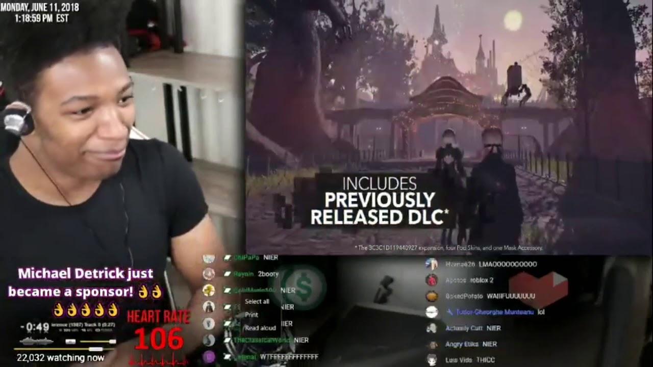 Etika Reacts to Nier: Automata on switch E3 (lol)