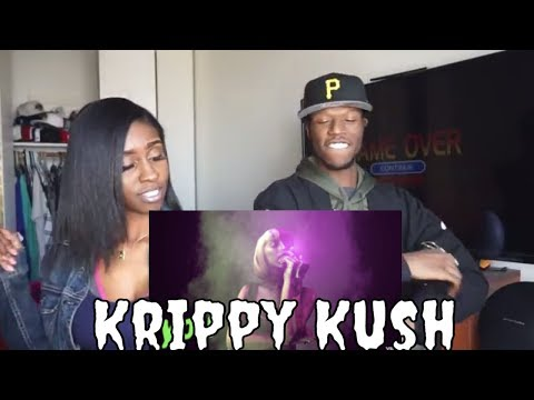 Bad Bunny x Nicki Minaj x Farruko- Krippy Kush (Remix)[Lyric Video] ft. 21 Savage, Rvssian Reaction!