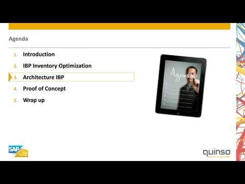 Webinar - SAP Integrated Business Planning for Inventory